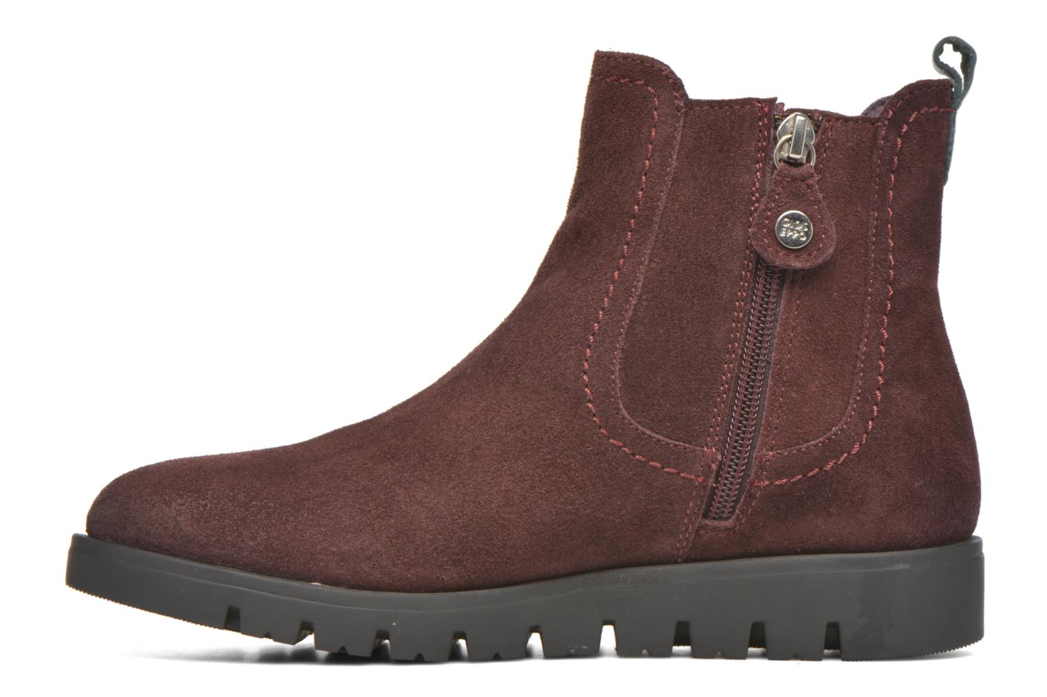 Bottines et boots Gioseppo Muros Bordeaux vue face