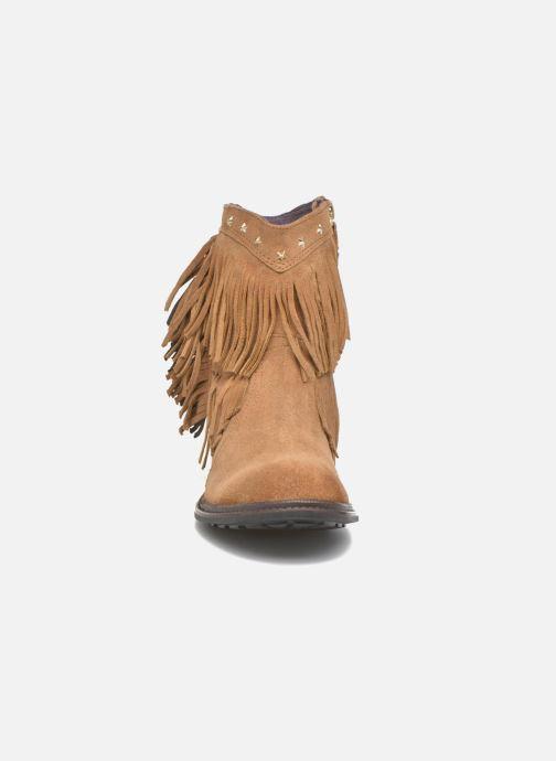 Ankelstøvler Gioseppo Farwest Beige se skoene på
