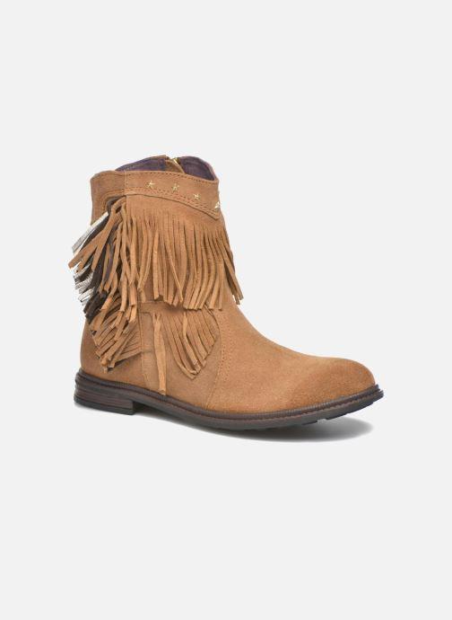 Ankelstøvler Gioseppo Farwest Beige detaljeret billede af skoene