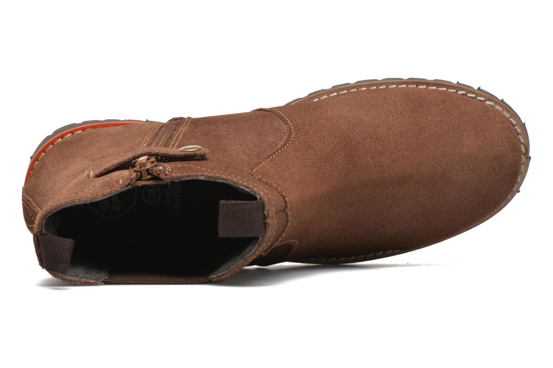 Bottines et boots Gioseppo Grandprix Marron vue gauche
