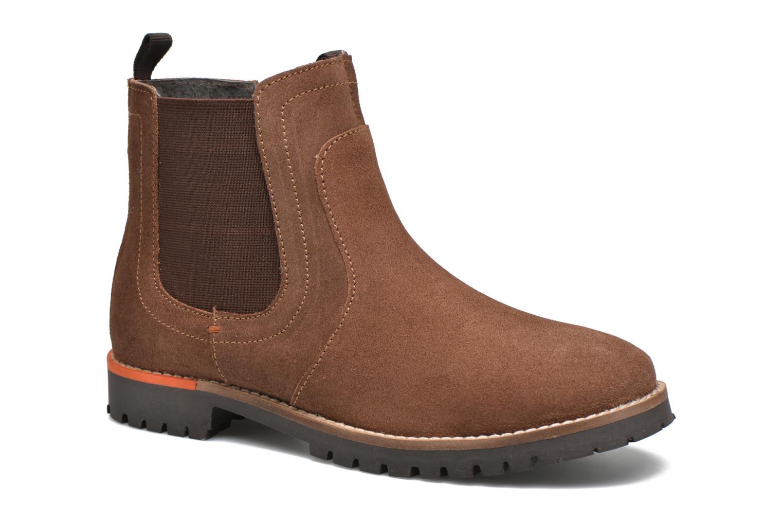Bottines et boots Gioseppo Grandprix Marron vue détail/paire