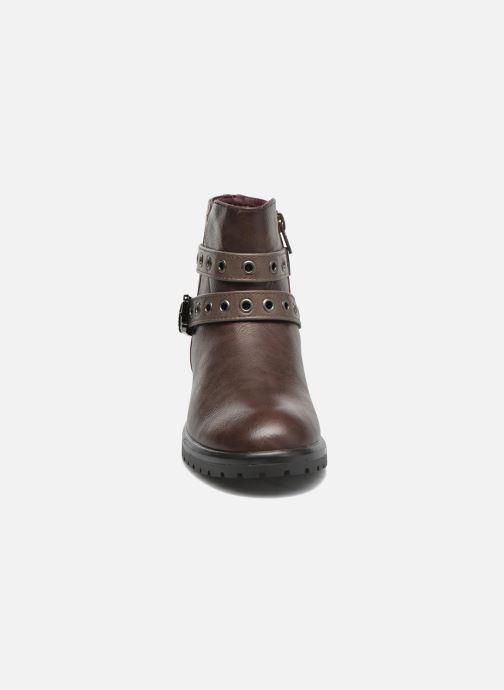 Bottines et boots Gioseppo Pistones Marron vue portées chaussures