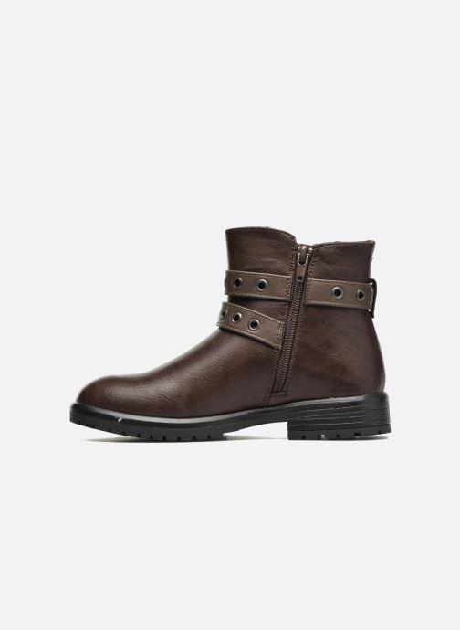 Bottines et boots Gioseppo Pistones Marron vue face