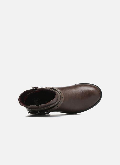 Bottines et boots Gioseppo Pistones Marron vue gauche