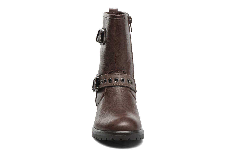 Bottes Gioseppo Forte Marron vue portées chaussures