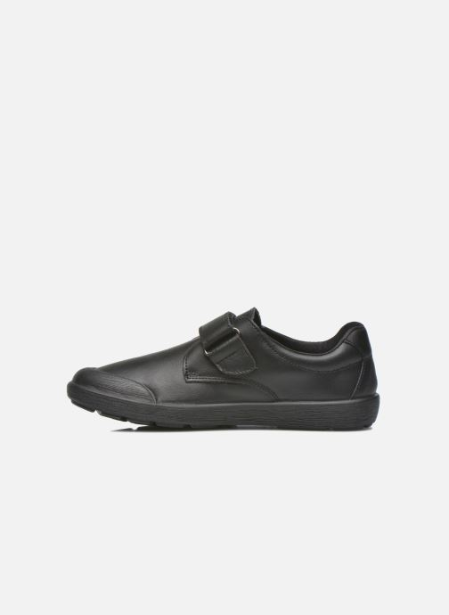 Velcro shoes Gioseppo Galilei Black front view
