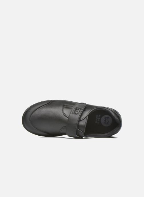Velcro shoes Gioseppo Galilei Black view from the left