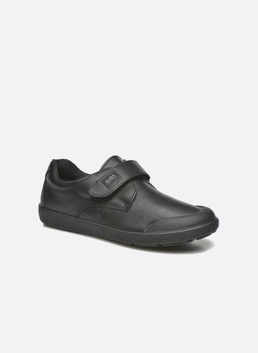 Velcro shoes Gioseppo Galilei Black detailed view/ Pair view