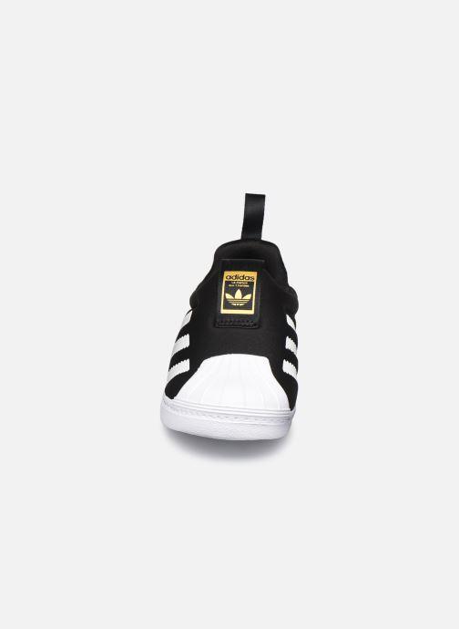 Sneaker adidas originals Superstar 360 I schwarz schuhe getragen