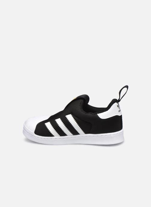 Sneaker adidas originals Superstar 360 I schwarz ansicht von vorne