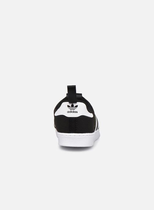 Sneaker adidas originals Superstar 360 I schwarz ansicht von rechts