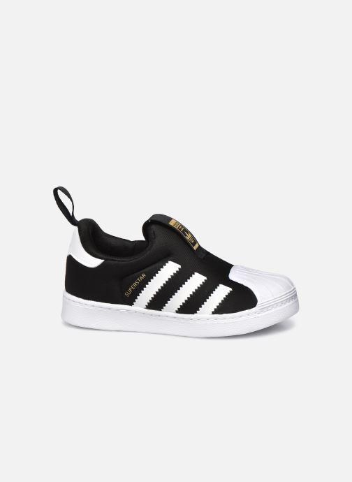 Sneaker adidas originals Superstar 360 I schwarz ansicht von hinten