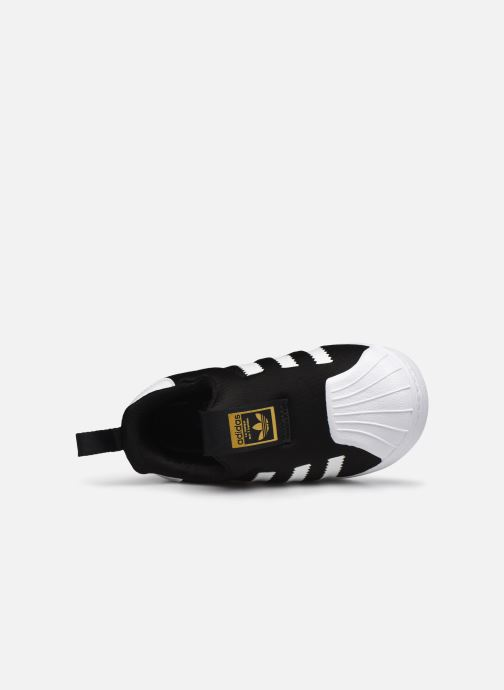 Baskets adidas originals Superstar 360 I Noir vue gauche