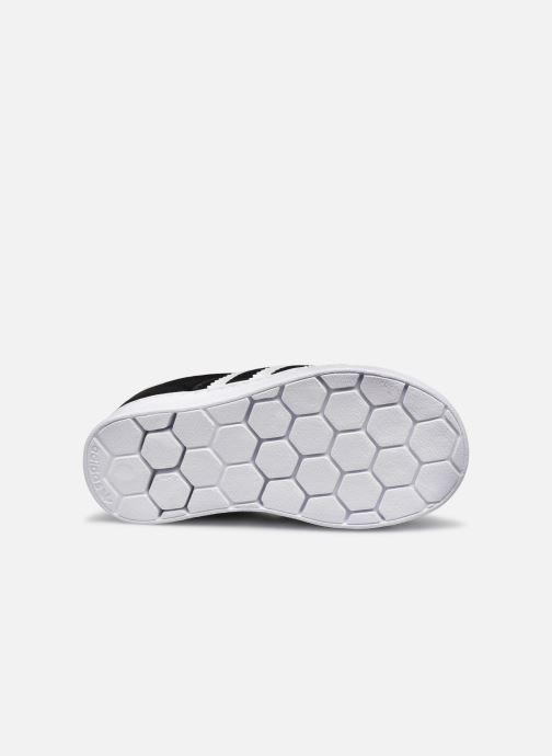 Sneaker adidas originals Superstar 360 I schwarz ansicht von oben