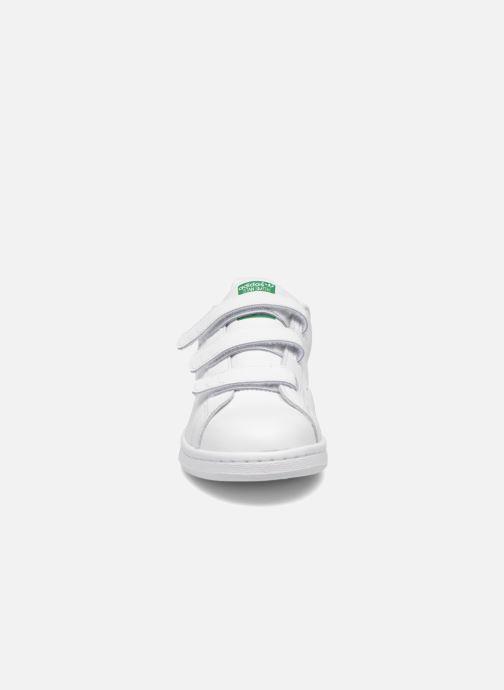 Sneaker adidas originals Stan Smith Cf J weiß schuhe getragen