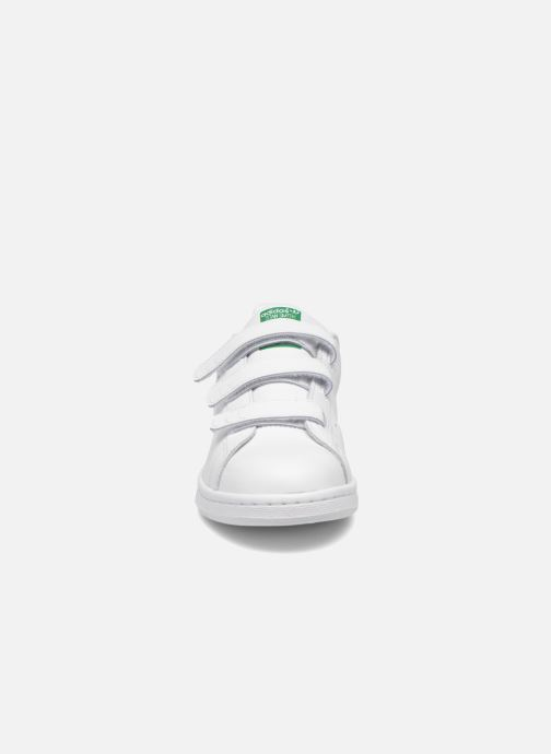 Baskets adidas originals Stan Smith Cf J Blanc vue portées chaussures