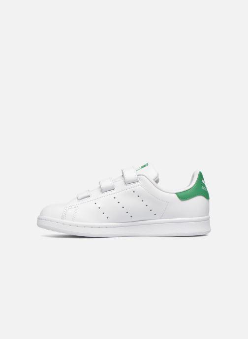 Sneaker adidas originals Stan Smith Cf J weiß ansicht von vorne