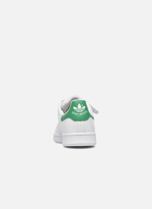 Sneaker adidas originals Stan Smith Cf J weiß ansicht von rechts