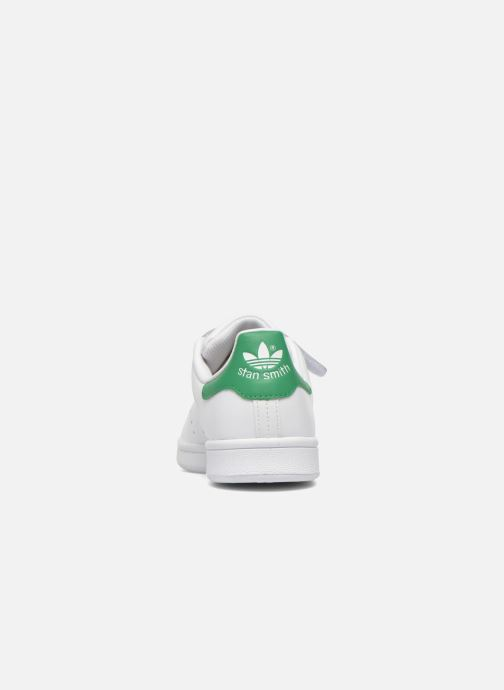 Trainers adidas originals Stan Smith Cf J White view from the right