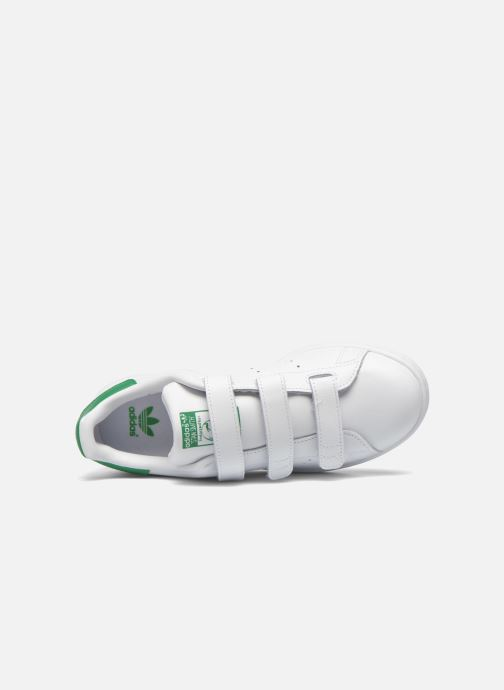 Sneaker adidas originals Stan Smith Cf J weiß ansicht von links
