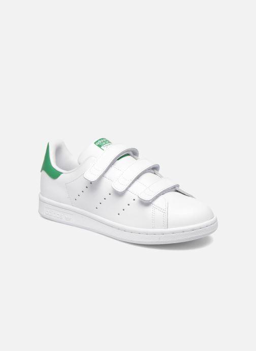 Deportivas Adidas Originals Stan Smith Cf J Blanco vista de detalle / par