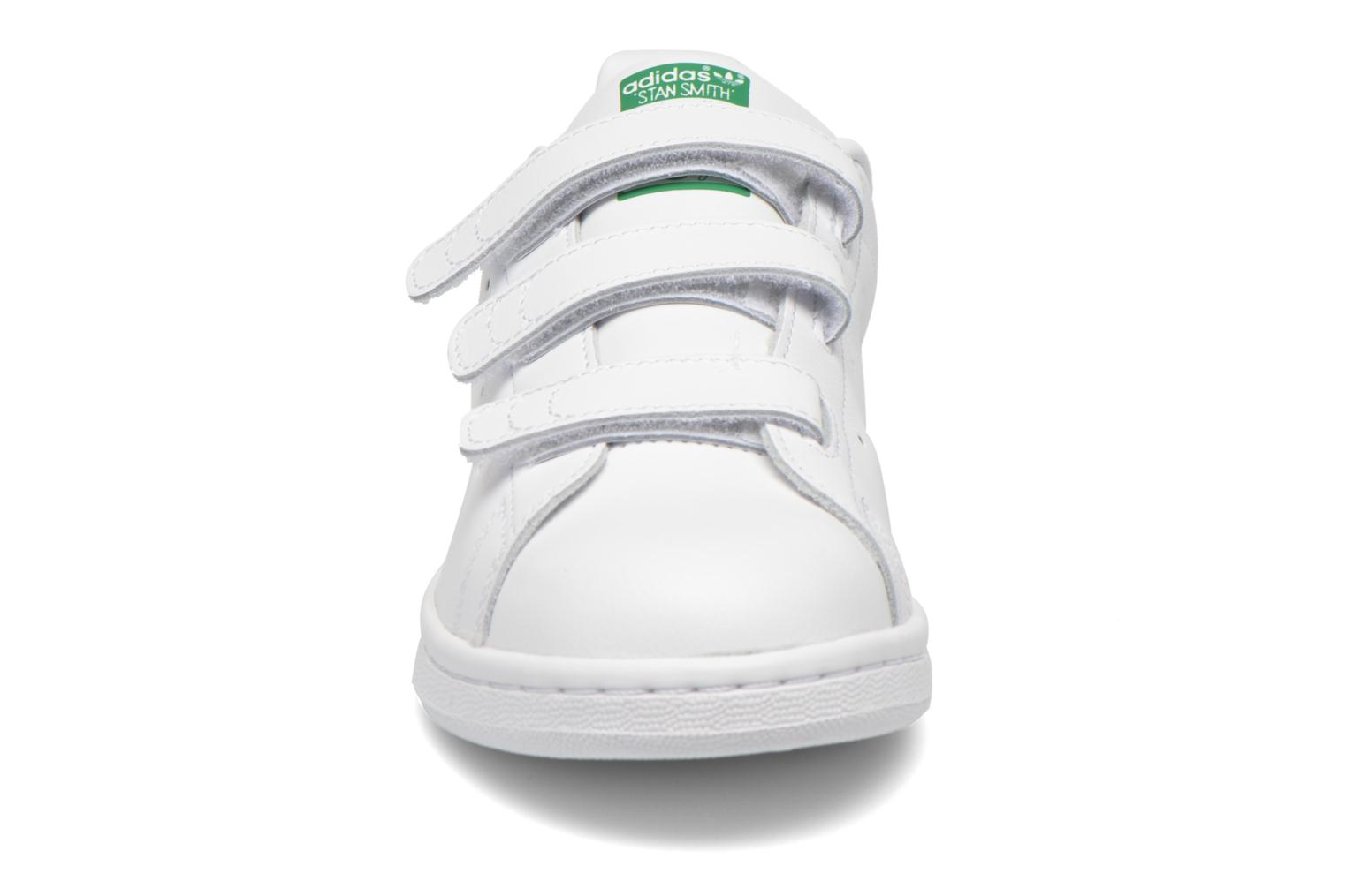 Sneakers Adidas Originals Stan Smith Cf J Bianco modello indossato