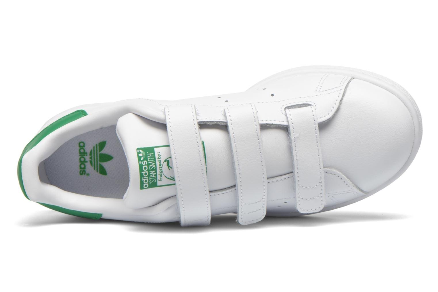 Sneakers Adidas Originals Stan Smith Cf J Bianco immagine sinistra