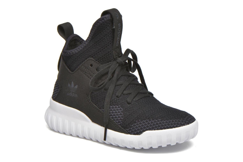 Baskets Adidas Originals Tubular X Pk C Noir vue détail/paire