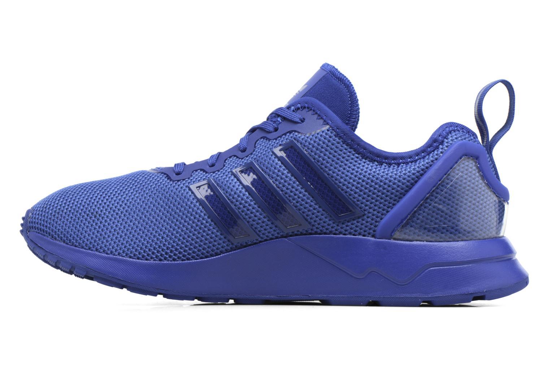 Baskets Adidas Originals Zx Flux Adv J Bleu vue face