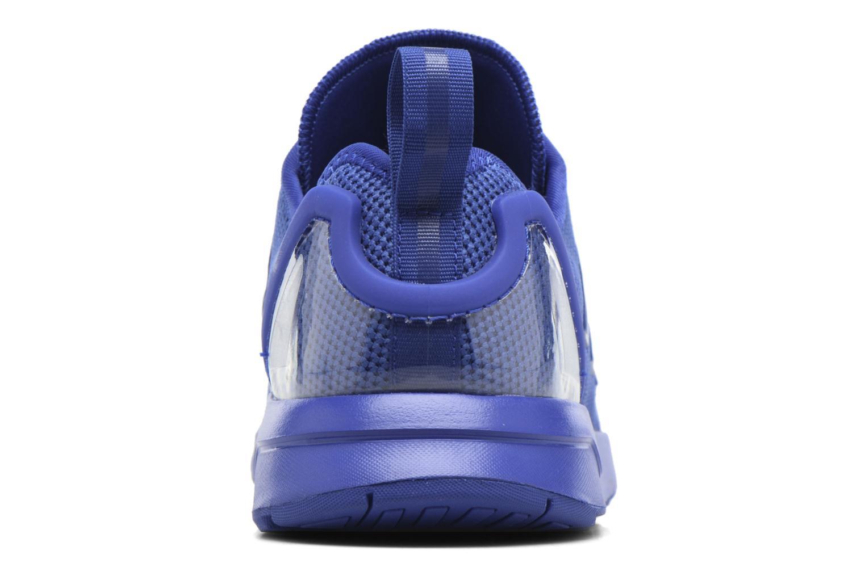 Baskets Adidas Originals Zx Flux Adv J Bleu vue derrière