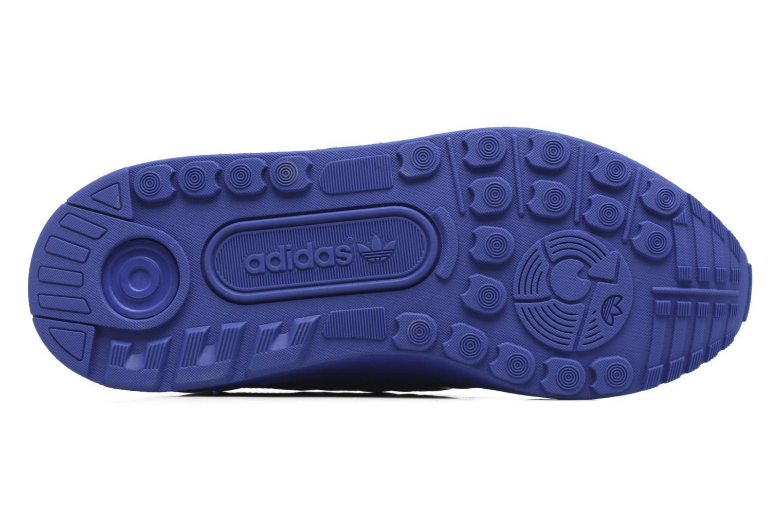 Baskets Adidas Originals Zx Flux Adv J Bleu vue haut
