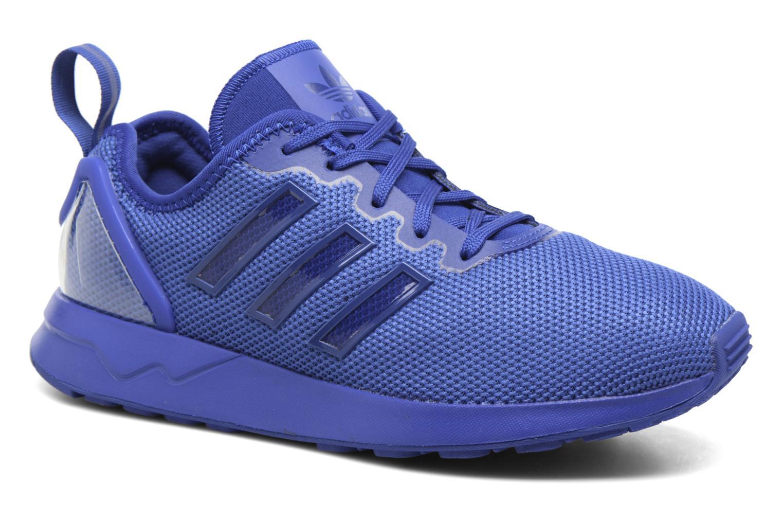 Baskets Adidas Originals Zx Flux Adv J Bleu vue détail/paire