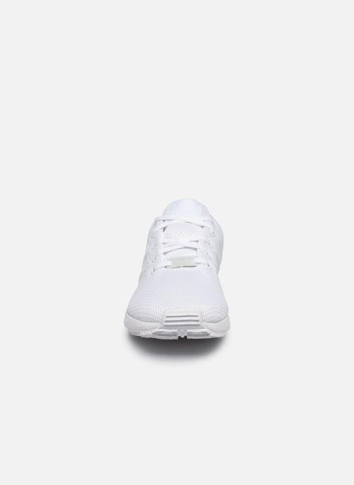 Sneaker adidas originals Zx Flux J weiß schuhe getragen