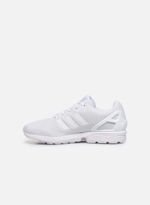Sneakers adidas originals Zx Flux J Wit voorkant