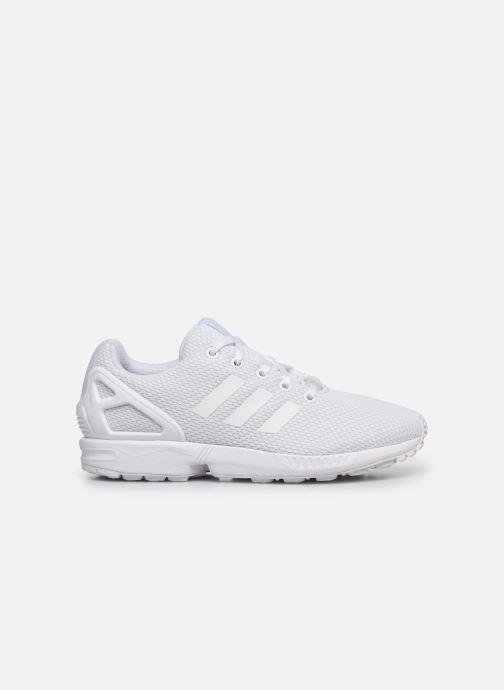 Sneaker adidas originals Zx Flux J weiß ansicht von hinten