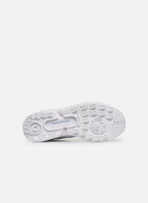 Sneaker adidas originals Zx Flux J weiß ansicht von oben