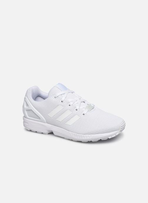 Sneaker adidas originals Zx Flux J weiß detaillierte ansicht/modell