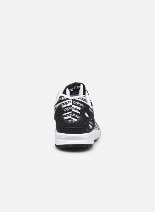 Sneaker adidas originals Zx Flux J schwarz ansicht von rechts