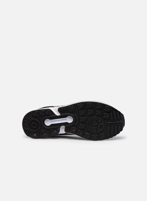 Sneaker adidas originals Zx Flux J schwarz ansicht von oben