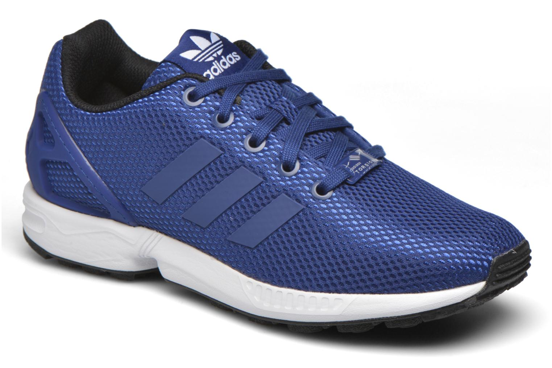 low priced 7e243 86a6d ... hot sneaker adidas originals zx flux j blau detaillierte ansicht modell  b1c5f e49c4