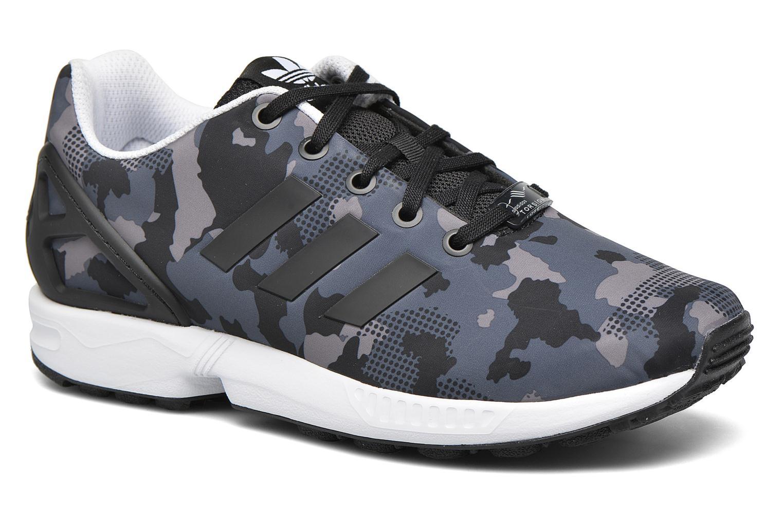 fa45c9fb0 ... italy trainers adidas originals zx flux j grey detailed view pair view  4dca5 da5cb