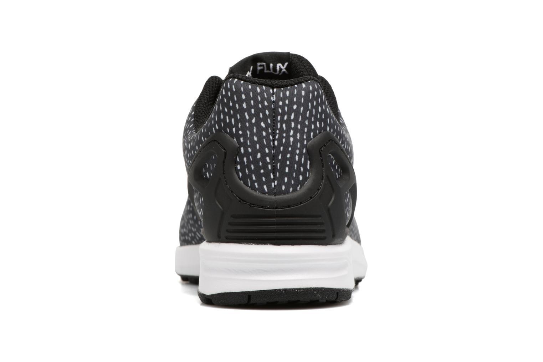 Baskets Adidas Originals Zx Flux J Noir vue droite