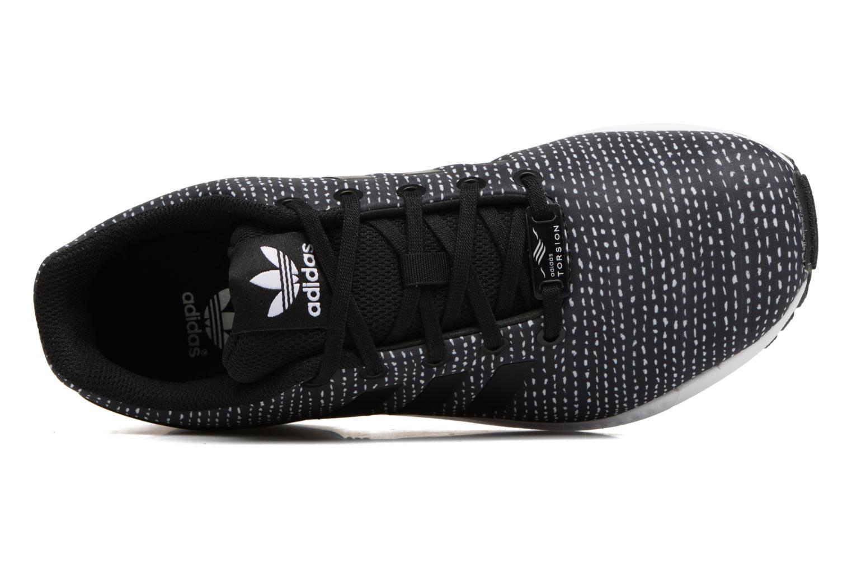 Baskets Adidas Originals Zx Flux J Noir vue gauche