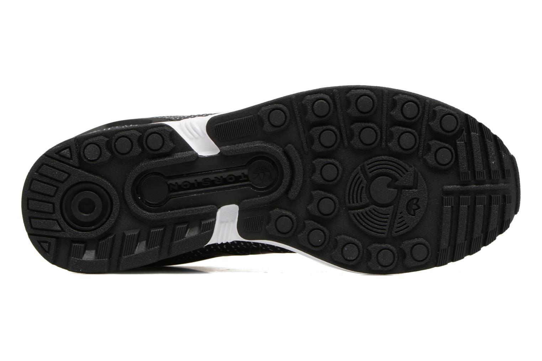 Baskets Adidas Originals Zx Flux J Noir vue haut