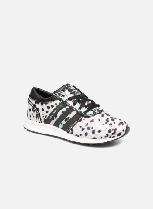 Sneakers adidas originals Los Angeles J Grijs detail