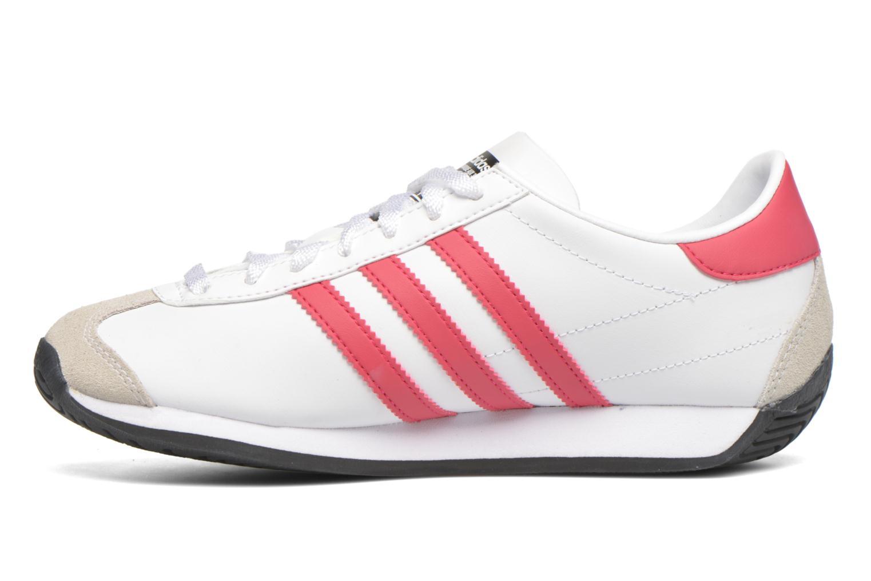 Sneakers Adidas Originals Country Og J Hvid se forfra