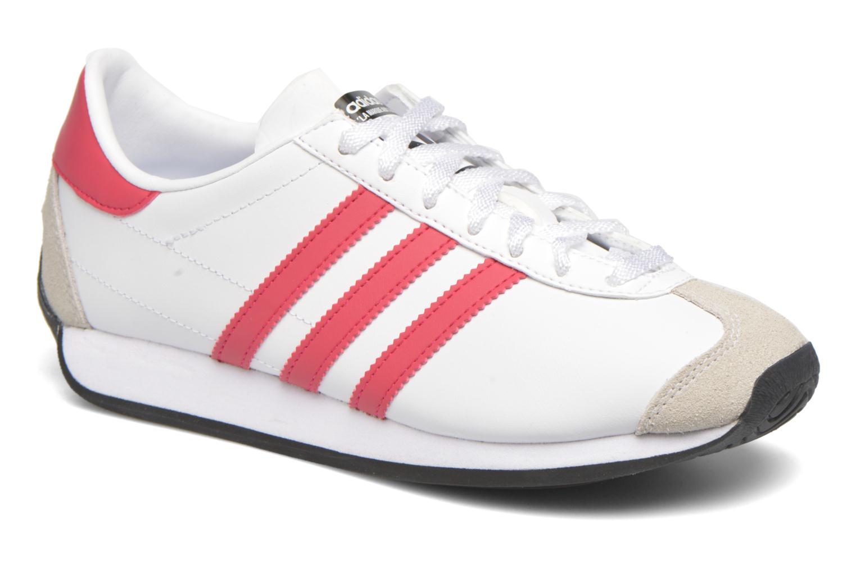 Sneakers Adidas Originals Country Og J Hvid detaljeret billede af skoene