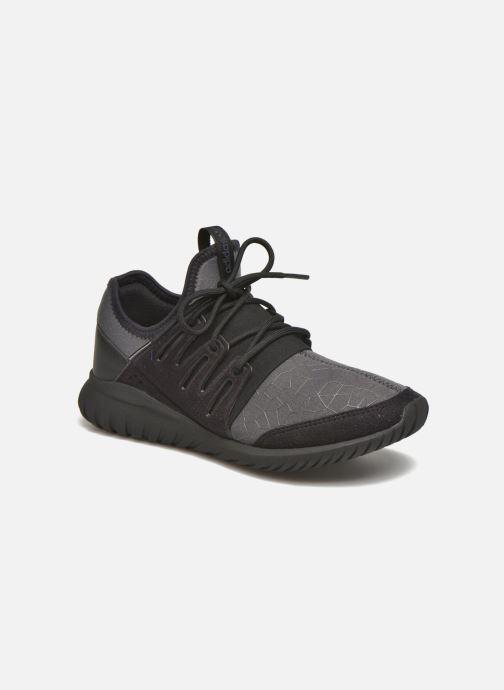 Sneakers adidas originals Tubular Radial J Zwart detail