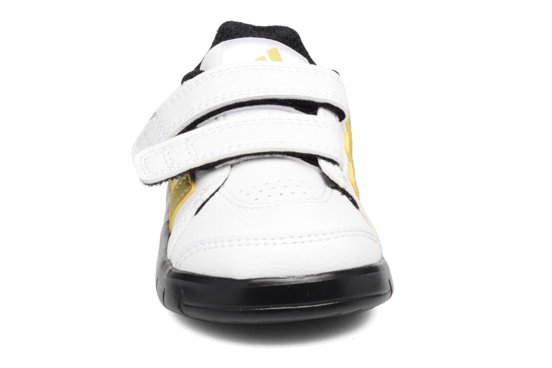 Baskets Adidas Performance FB LK Trainer 7 CF I Blanc vue portées chaussures