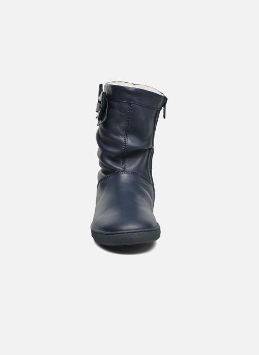 Bottes Chicco Ciky Bleu vue portées chaussures